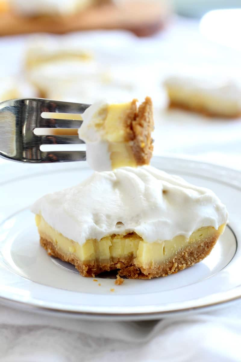tripe layer Paleo lemon bars - gluten free, dairy free, paleo