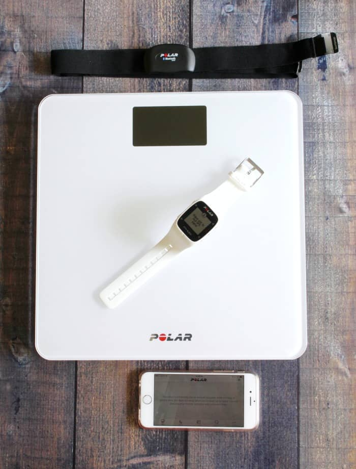 Polar balance, watch, app, and heart rate monitor