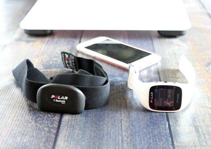 Polar watch, balance and heart rate monitor