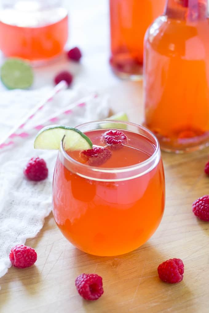 Raspberry lime kombucha-13