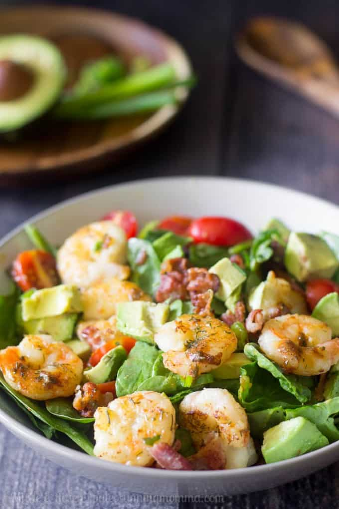Smokey dill shrimp salad-2