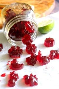 Tart Cherry Lime Homemade Gummy Candy Paleo Paleo