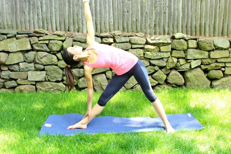 hips and hamstrings post run yoga