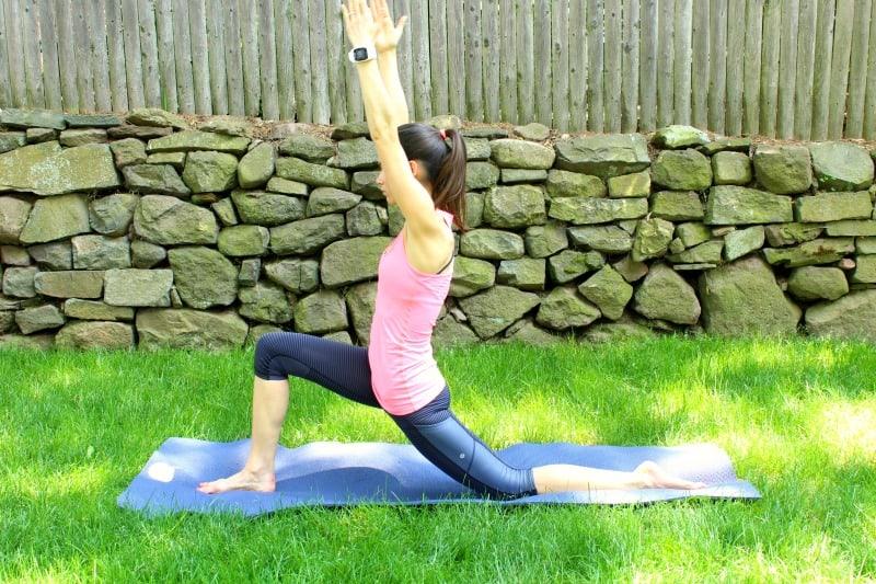polar post run yoga hamstrings and hips