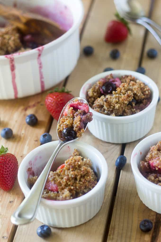 berry crumble breakfast-9