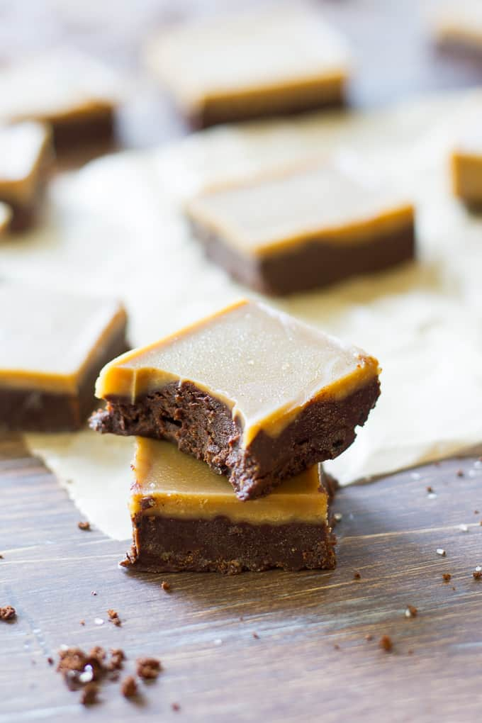 caramel mocha fudge-7