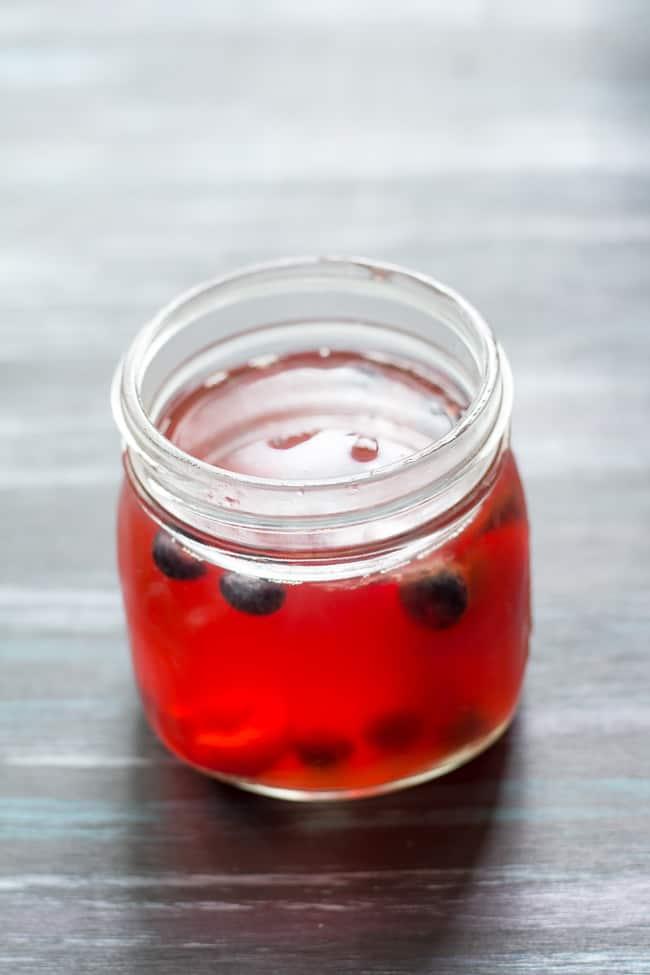 cherry berry kombucha