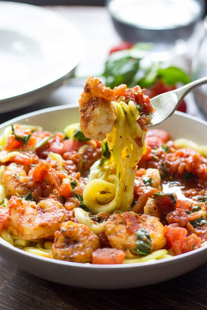 spicy shrimp pasta-6
