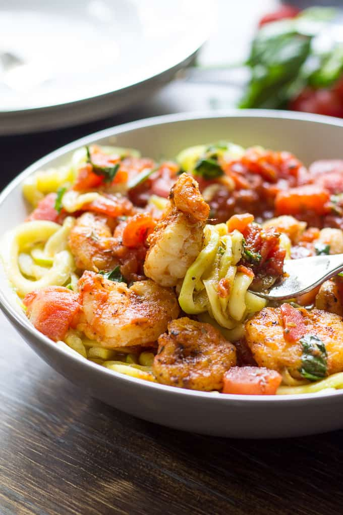 spicy shrimp pasta-7