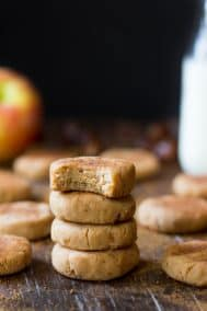 No-Bake Apple Cinnamon Cookies {Paleo & Vegan}