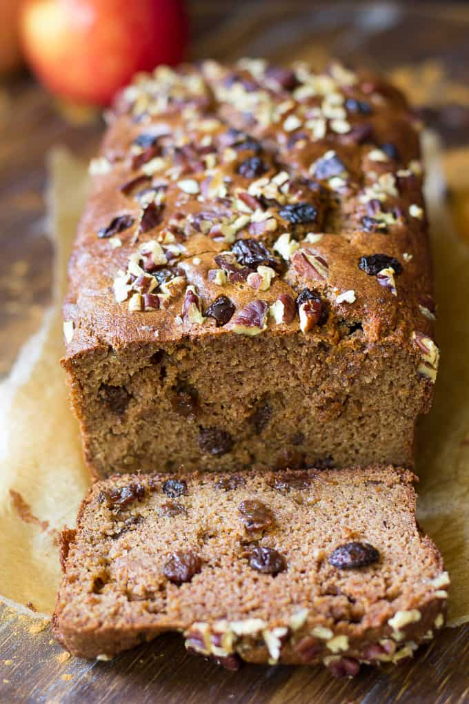 Cinnamon Raisin Paleo Breakfast Bread