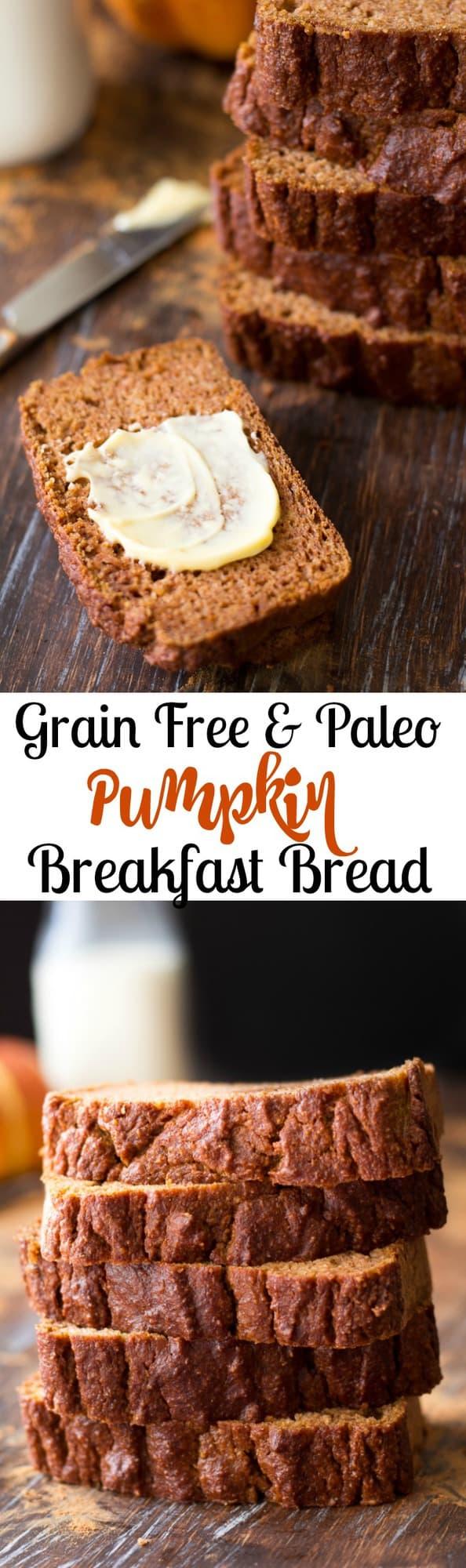 Simple Paleo Pumpkin Bread The Paleo Running Momma