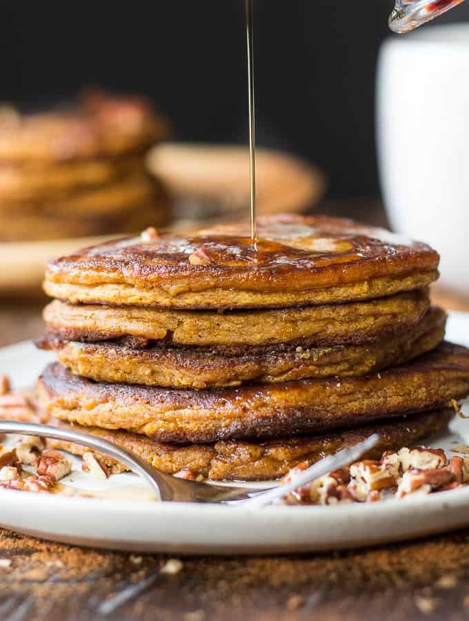 maple pumpkin pancakes