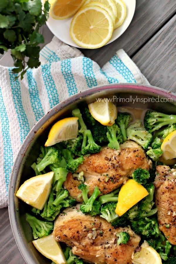 lemon-chicken-skillet-one-skillet-dinner