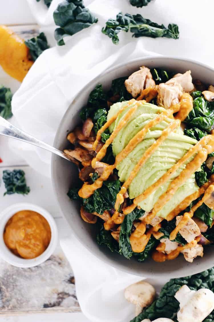 paleo-chicken-bowl