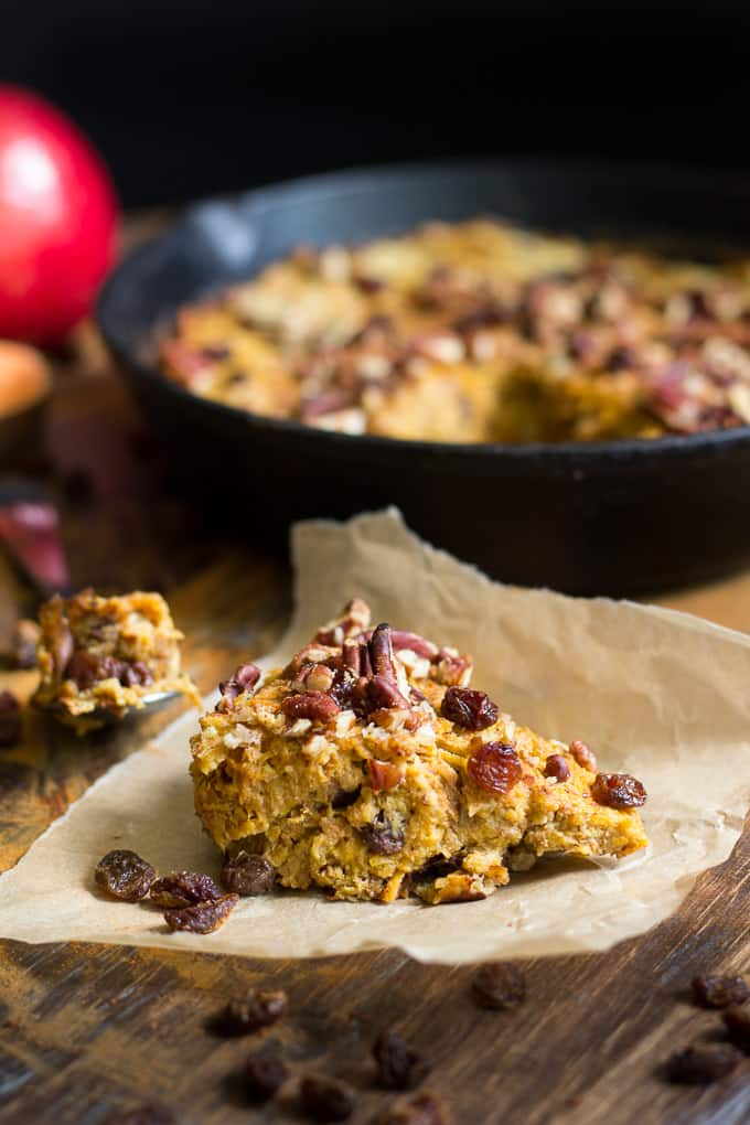 Sweet Potato Apple Breakfast Bake {Paleo \u0026 Whole30}