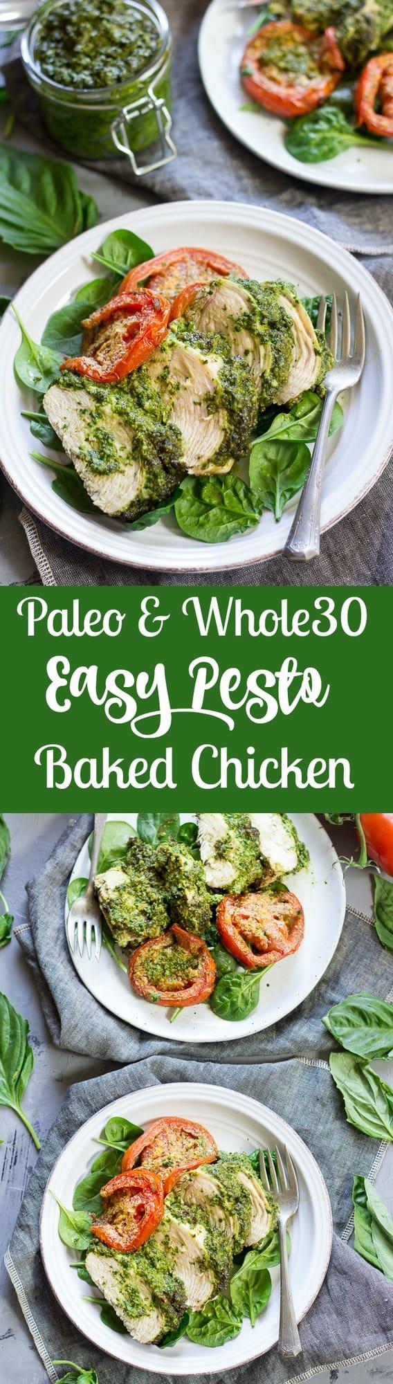 paleo-whole30-easy-pesto-baked-chicken