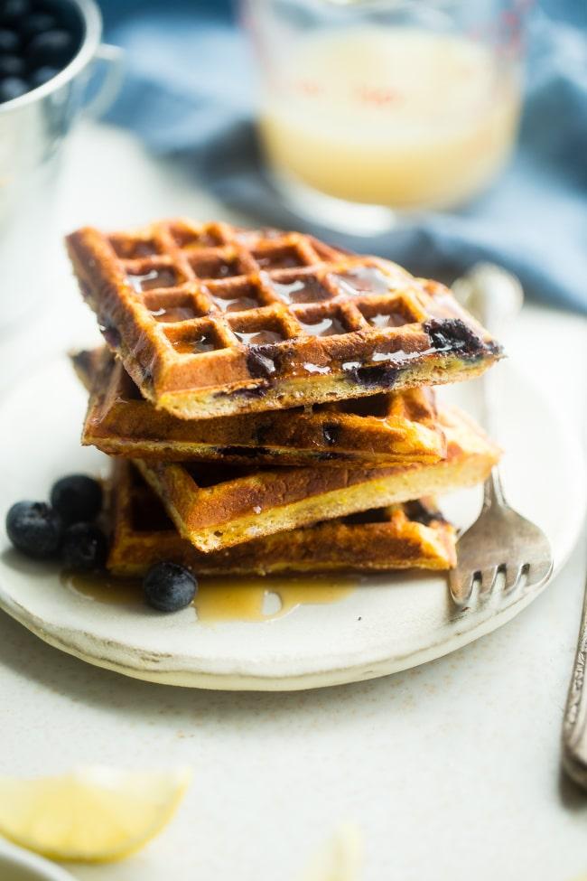 blueberry-waffles