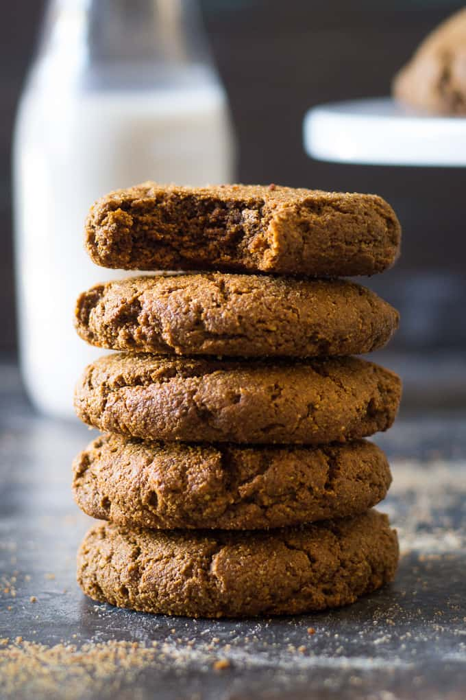 Big Chewy Paleo Gingerbread Cookies The Paleo Running Momma