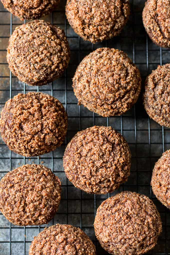 Pumpkin Gingerbread Paleo Coffee Cake Muffins Recipe