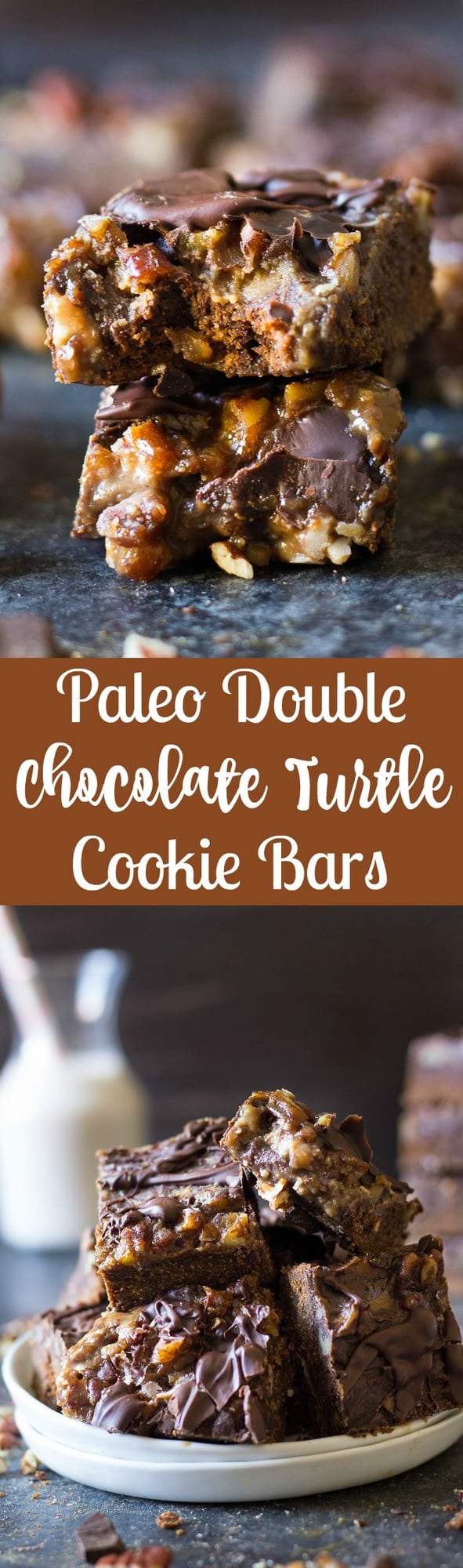 paleo-double-chocolate-turtle-cookie-bars