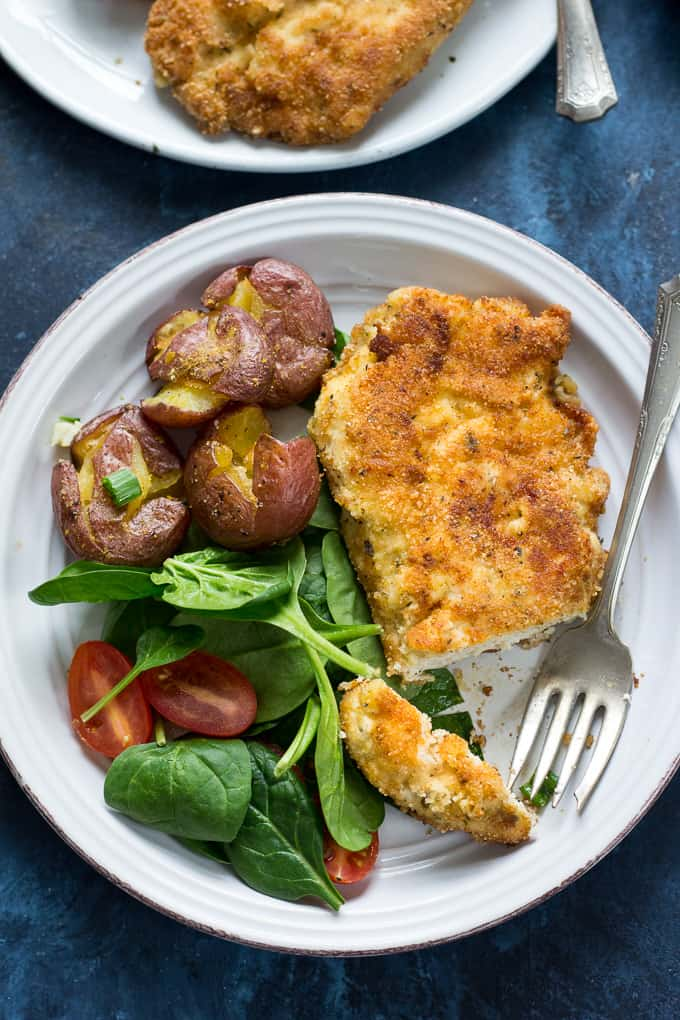 Breaded paleo chicken cutlets whole30 the paleo running momma my familys favorite breaded paleo chicken cutlets that are super easy quick forumfinder Images