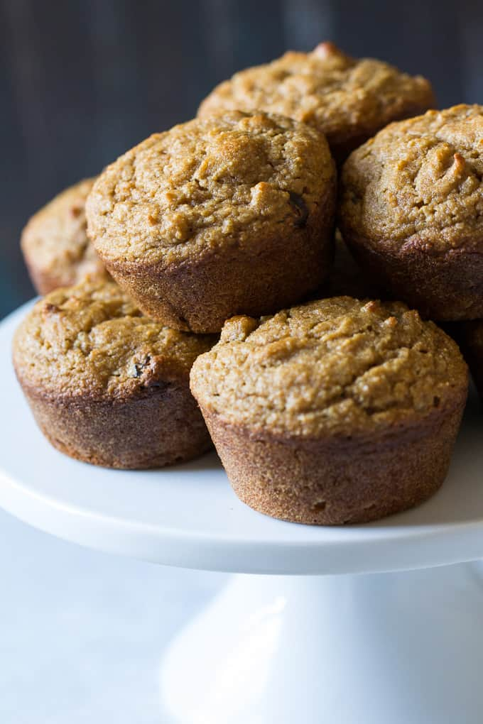 Cinnamon Raisin Sweet Potato Muffins {Paleo}
