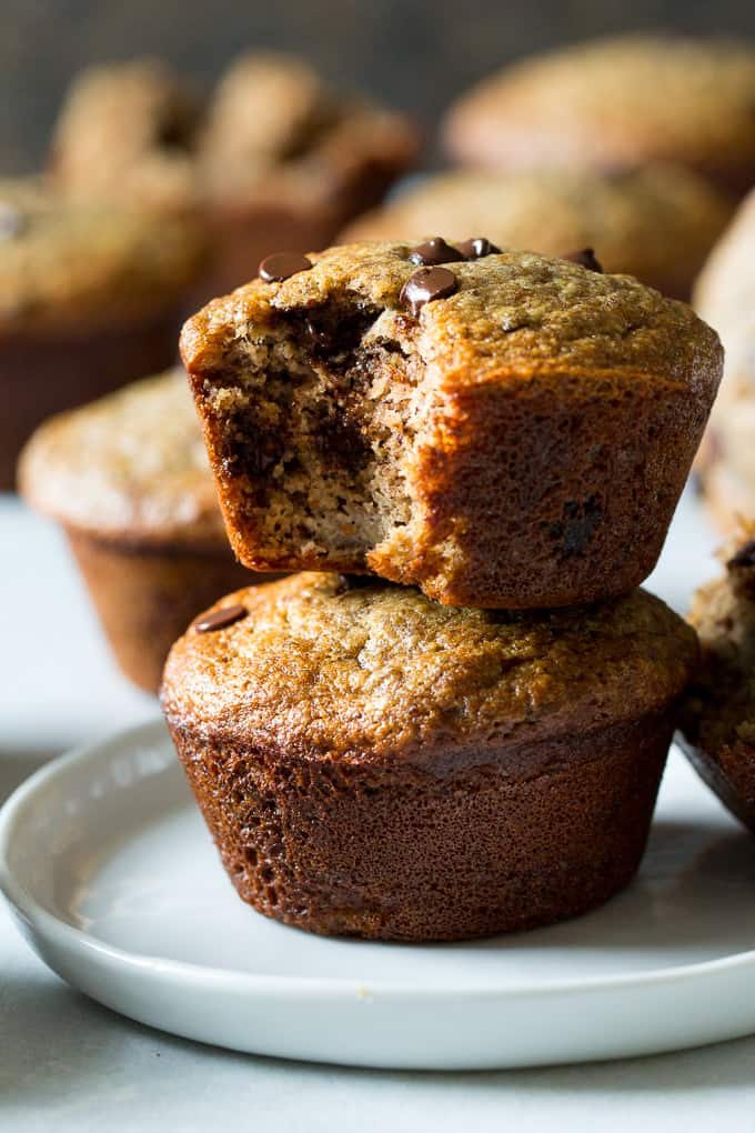 Paleo Almond Butter Banana Muffins With Flaxseed The Paleo Running Momma