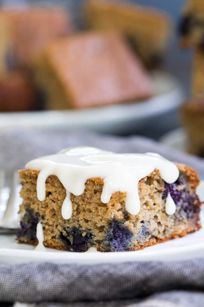 Paleo Blueberry Muffin Breakfast Bars | The Paleo Running ...