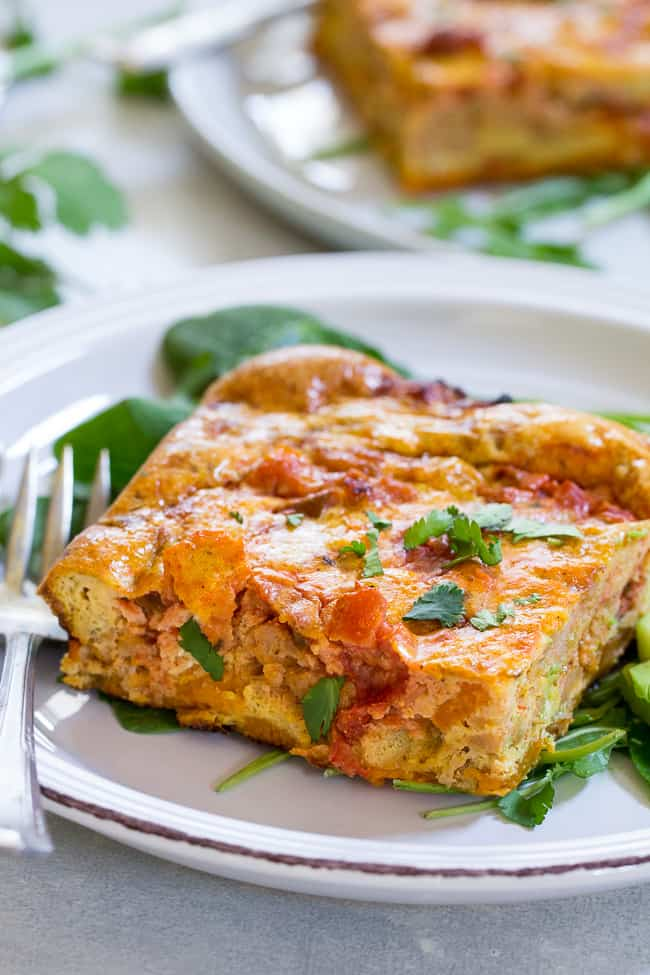 Mexican Breakfast Casserole {Paleo & Whole30}