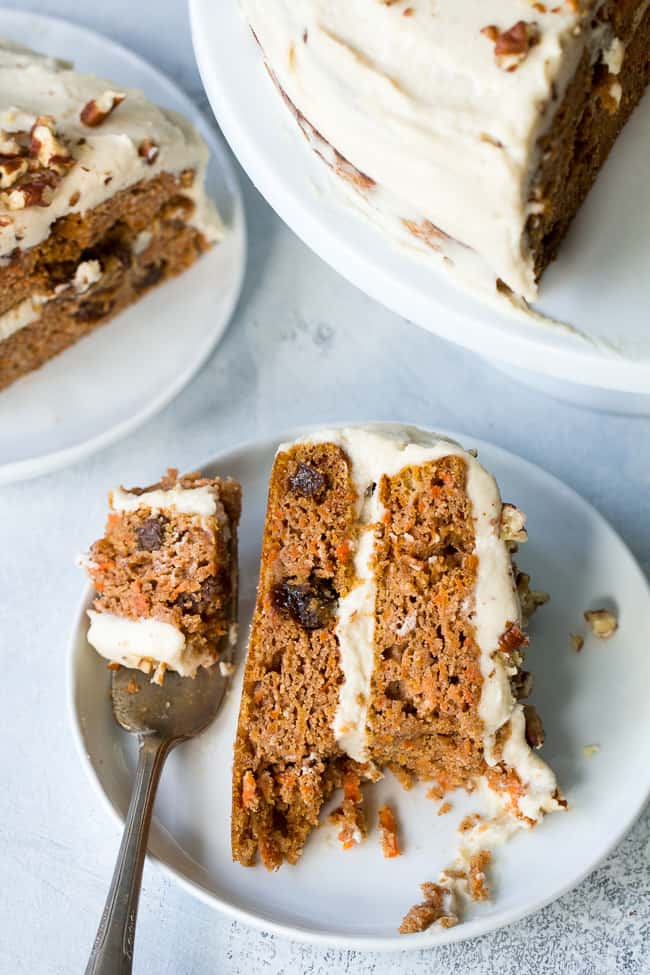 Paleo Carrot Cake with Coconut