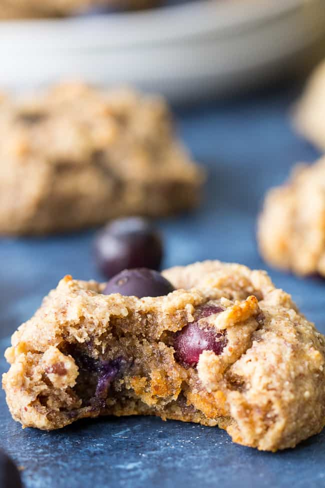 Banana Blueberry Breakfast Cookies {Paleo & Vegan}