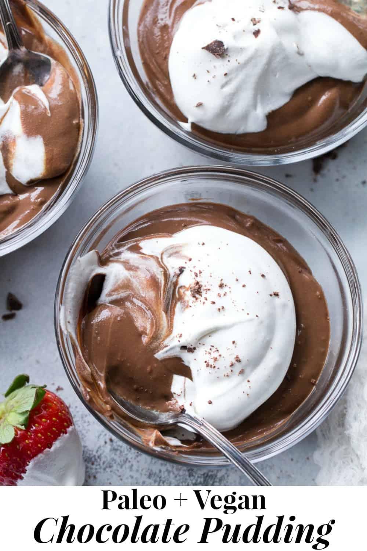 Easy Paleo Vegan Chocolate Pudding Dairy Free The Paleo Running Momma