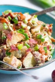 Bacon Ranch Potato Salad {Paleo & Whole30}