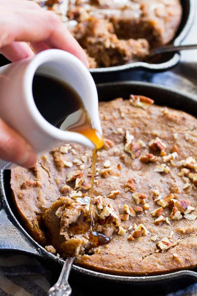 Maple Pecan Banana Breakfast Bake {Paleo & Vegan} | The ...