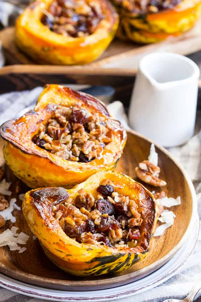 """Candied"" Maple Roasted Squash {Paleo & Vegan}"
