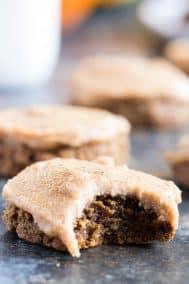 Pumpkin Spice Latte Cookies {Paleo, GF, DF}