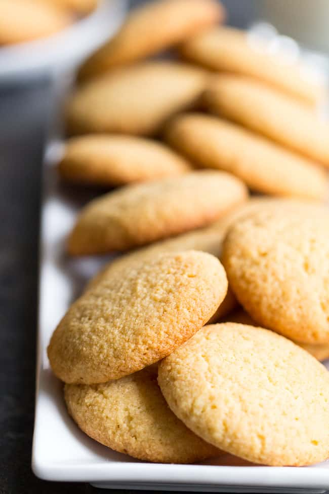 Paleo Vanilla Wafer Cookies
