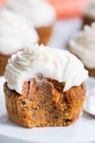 Carrot Cake Cupcakes {Paleo & Nut Free}