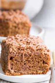 Classic Cinnamon Coffee Cake {Paleo, GF, DF}
