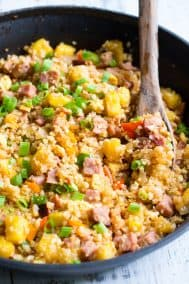 Hawaiian Cauliflower Fried Rice {Paleo, Whole30}