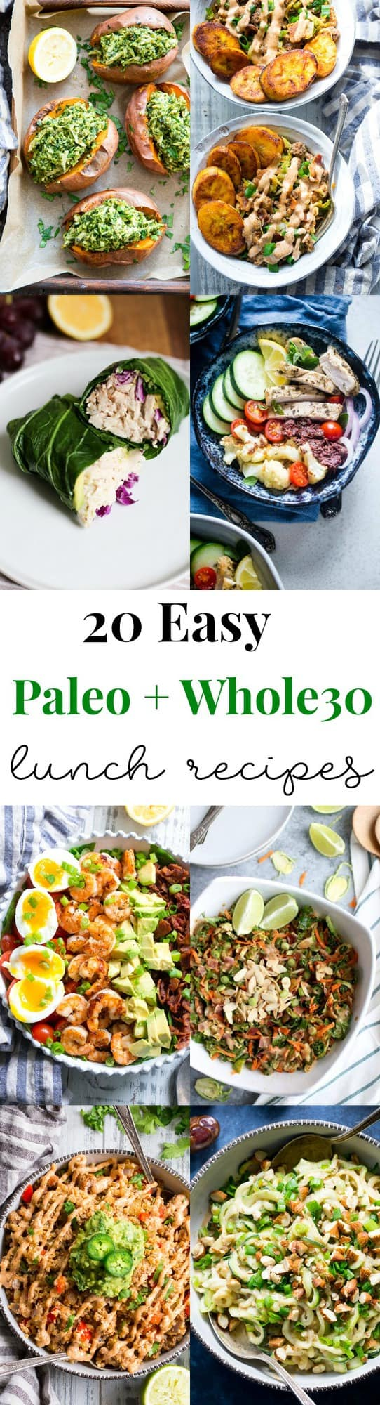 20 Easy Whole30 Paleo Lunch Recipes