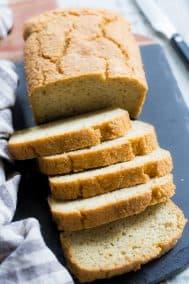 Paleo Sandwich Bread {Grain Free, Dairy Free, Sugar Free}
