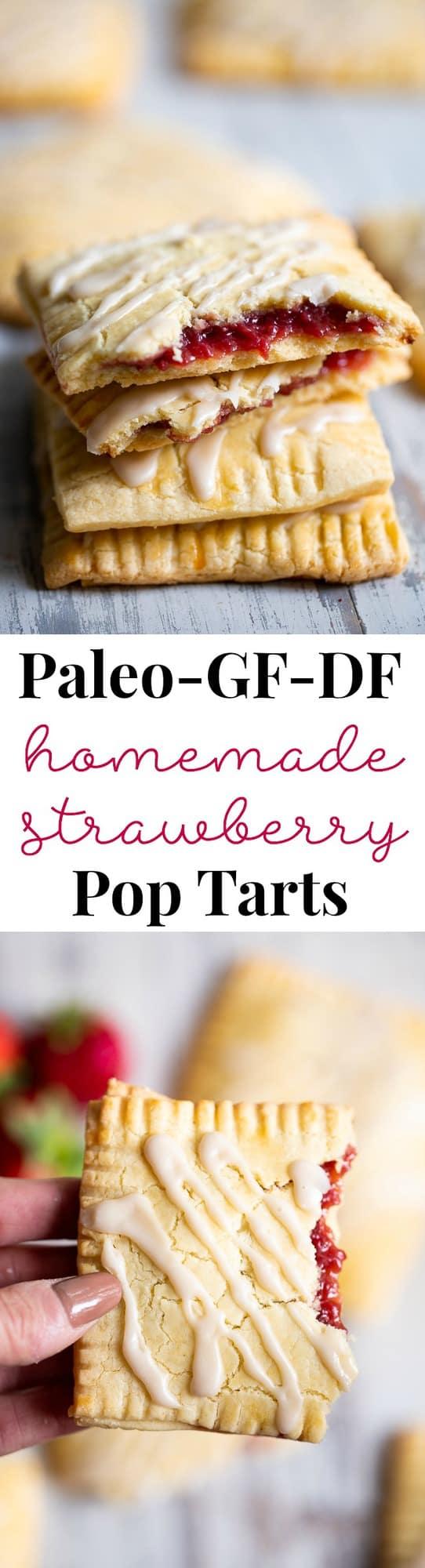 Paleo Strawberry Homemade Pop Tarts