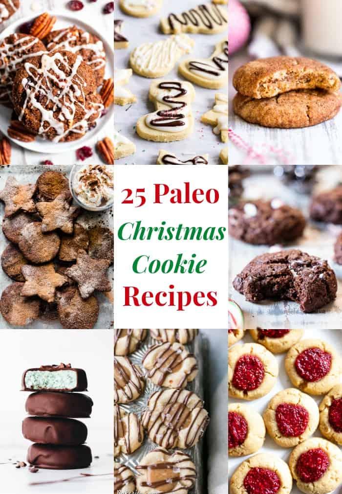 25 Paleo Christmas Cookies The Paleo Running Momma