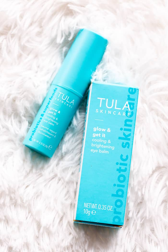 New TULA Probiotic Cooling and Brightening Eye Balm |