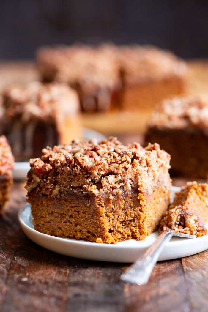 Pumpkin Coffee Cake Paleo Gluten Free The Paleo Running Momma